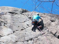 "Rock Climbing Photo: Scooter climbing ""5th Grad Science Project&qu..."