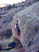 Rock Climbing Photo: Refracted?...I think