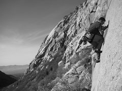 Rock Climbing Photo: Bobby and I took my brother out to climb for his b...