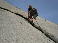 Rock Climbing Photo: My home turf...The Hook in LCC