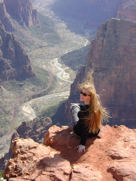 Rock Climbing Photo: Spring in Zion