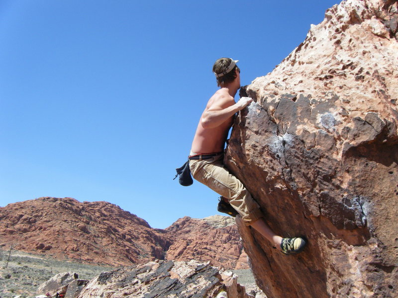Ryan topping out the Unknown.