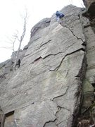 "Rock Climbing Photo: Unknown climber on ""The Slab"""