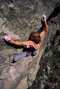 Rock Climbing Photo: Boulder Canyon project 13d
