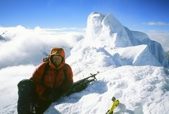 Rock Climbing Photo: summit aplamayo peru