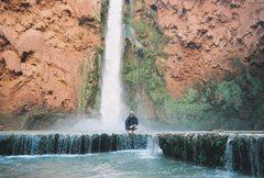 Rock Climbing Photo: havasu canyon