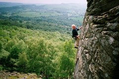 Rock Climbing Photo: my dad, still rockin' at 70