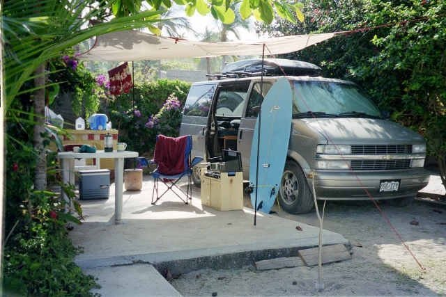 from tin-can to the van. 2nd home, anywhere mexico.