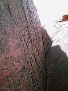 Rock Climbing Photo: Start of pitch #3