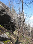 Rock Climbing Photo: Hannah is the furthest seen section of rock in thi...