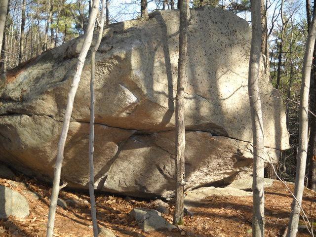The Cave Boulder<br> photo by Joshua Corbett