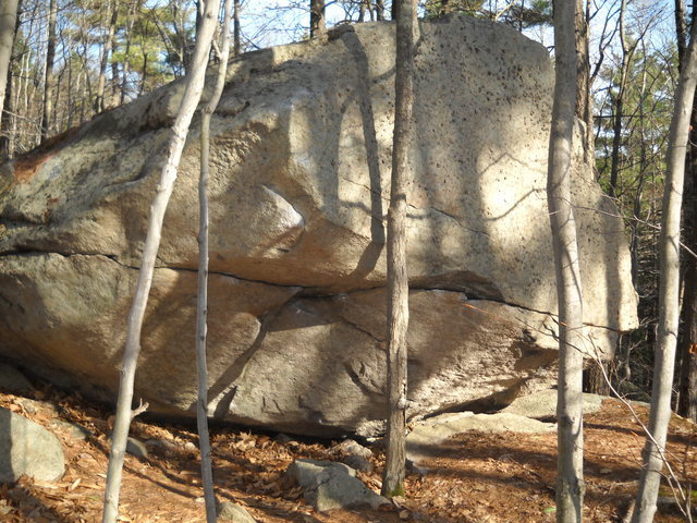 Rock Climbing Photo: Cave Boulder. Photo by Joshua Corbett