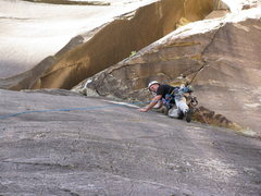 Rock Climbing Photo: P1 of The Gobbler
