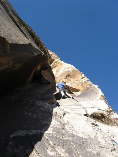 Rock Climbing Photo: The Gobbler P2