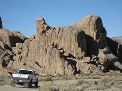 Rock Climbing Photo: Sunday Matinee Wall is the closest wall in the sun...