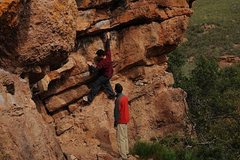 Rock Climbing Photo: pinnacles april 2010