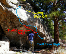 Rock Climbing Photo: The Troll Cave.