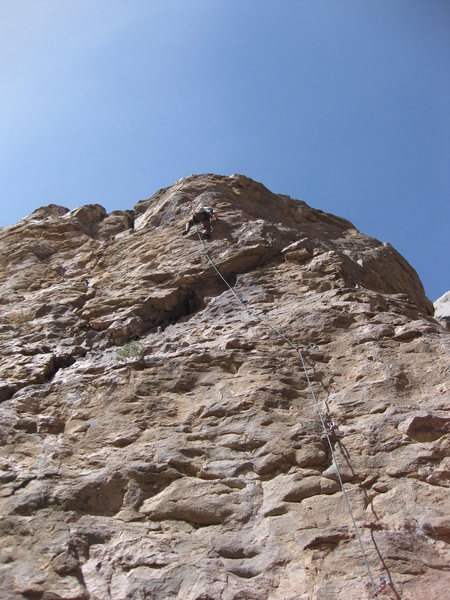 Rock Climbing Photo: Hiking up this great route.
