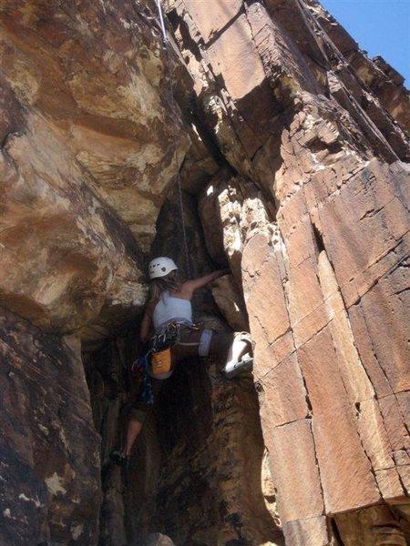 Rock Climbing Photo: Crux