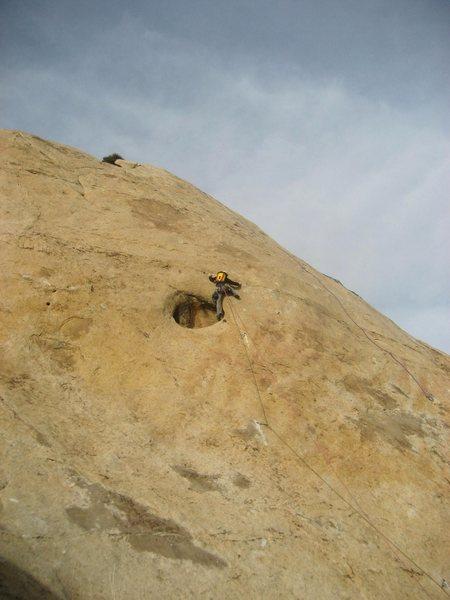 Rock Climbing Photo: Exiting the hole
