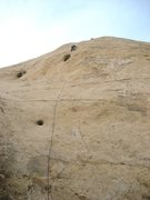 Rock Climbing Photo: Lance Bateman making the second ascent