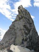 Rock Climbing Photo: John Bregar underneath the S-1 Spur.