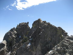 Rock Climbing Photo: Little Square Top Massif and Little Square Top (le...