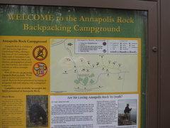 Rock Climbing Photo: Backcountry camping at Annapolis Rock.