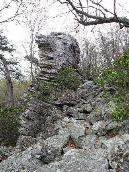 Rock Climbing Photo: Nixon's Other Nose.
