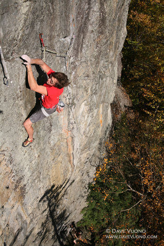 "Rock Climbing Photo: Jake List on his route ""Enter the Dweezil&quo..."