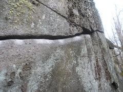 Rock Climbing Photo: porcupine crack