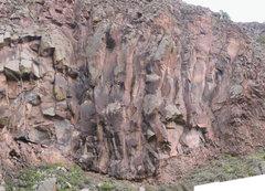 Rock Climbing Photo: Redtail Wall