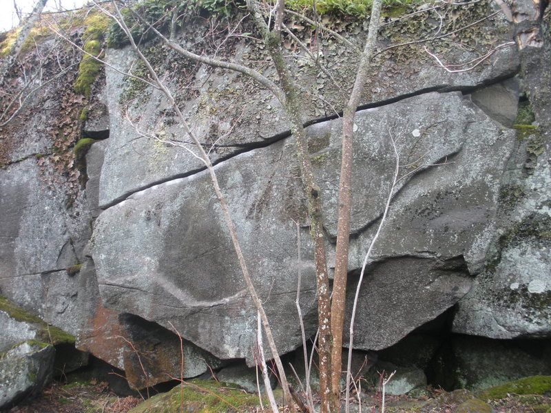 Rock Climbing Photo: here is the west face