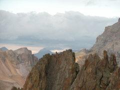 Rock Climbing Photo: Mt. Sneffels - Aug. 2009