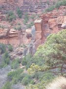 Rock Climbing Photo: Area I have found most routes put up. Near pump ho...