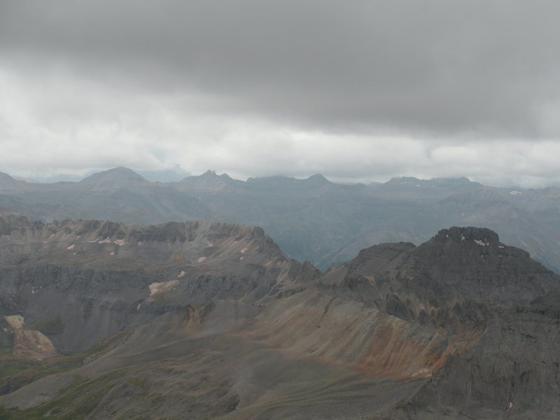 Mt. Sneffels summit - Aug. 2009