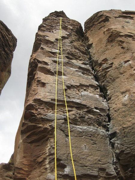 Rock Climbing Photo: Don Coyote, 5.8