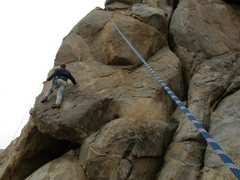 Rock Climbing Photo: Tucker Tech on The Love Bandit.