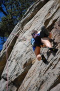 Rock Climbing Photo: Getting Close to the Top
