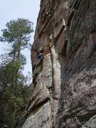 Rock Climbing Photo: Marie Louka On Planet Eater