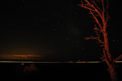 Rock Climbing Photo: I-80 and stars from a campsite right near Nautilus...