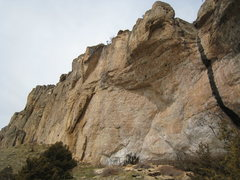 Rock Climbing Photo: The left side of the mighty Killer Cave.  Gets aft...
