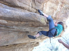 Rock Climbing Photo: My daughter in cochise