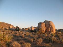 Rock Climbing Photo: The Rabbit Warren with Stonehenge proper in the di...