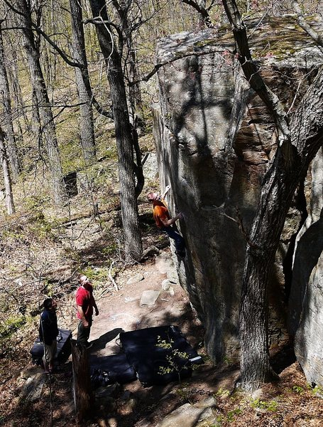 Rock Climbing Photo: That crimp moved just a little farther away this s...
