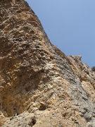 Rock Climbing Photo: Pitch 1 belay and start.