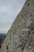 Rock Climbing Photo: Hesitation - 2nd pitch.