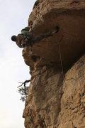Rock Climbing Photo: T Bob with his sweet onsite of #1 Super Guyyyyyyyy...