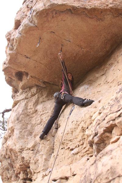 Rock Climbing Photo: Margret S on #1 Super Guy
