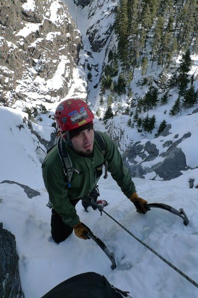 Rock Climbing Photo: Ouray Ice, Horsetail Falls